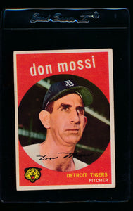 Scan of 1959 Topps 302 Don Mossi VG-EX