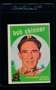 Scan of 1959 Topps 320 Bob Skinner NM (OC)