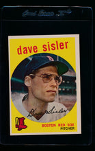 Load image into Gallery viewer, Scan of 1959 Topps 384 Dave Sisler EX