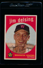 Load image into Gallery viewer, Scan of 1959 Topps 386 Jim Delsing VG-EX