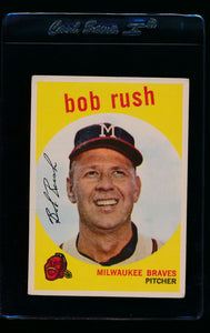 Scan of 1959 Topps 396 Bob Rush G/VG