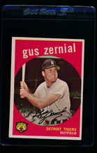 Load image into Gallery viewer, Scan of 1959 Topps 409 Gus Zernial VG-EX