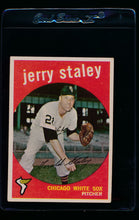 Load image into Gallery viewer, Scan of 1959 Topps 426 Gerry Staley EX