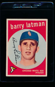 Scan of 1959 Topps 477 Barry Latman VG-EX