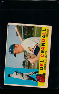Scan of 1960 Topps 170 Del Crandall VG