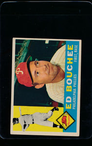 Scan of 1960 Topps 347 Ed Bouchee EX