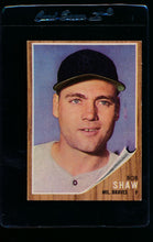 Load image into Gallery viewer, Scan of 1962 Topps 109 Bob Shaw EX