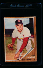 Load image into Gallery viewer, Scan of 1962 Topps 285 Curt Simmons VG