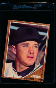Scan of 1962 Topps 337 Jim Marshall VG-EX