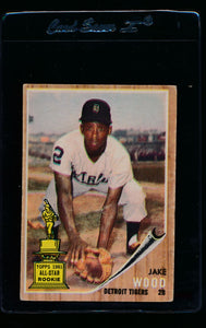 Scan of 1962 Topps 427 Jake Wood VG-EX