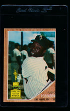 Load image into Gallery viewer, Scan of 1962 Topps 454 Floyd Robinson RC EX (MC)