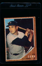Load image into Gallery viewer, Scan of 1962 Topps 169 Bob Cerv VG