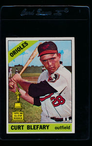 Scan of 1966 Topps 460 Curt Blefary EX-MT