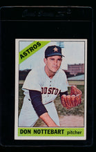 Load image into Gallery viewer, Scan of 1966 Topps 21 Don Nottebart EX