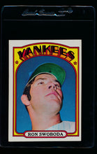 Load image into Gallery viewer, Scan of 1972 Topps 8 Ron Swoboda EX-MT