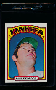 Scan of 1972 Topps 8 Ron Swoboda EX-MT