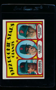 Scan of 1972 Topps 227 World Series Game 5/Nellie Briles VG-EX