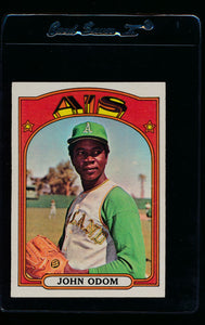 Scan of 1972 Topps 544 Ted Martinez VG-EX