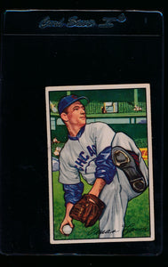 Scan of 1952 Bowman 15 Sam Mele G