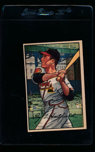 Scan of 1952 Bowman 20 Willie Jones EX