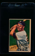 Load image into Gallery viewer, Scan of 1952 Bowman 38 Whitey Lockman VG-EX