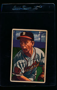 Scan of 1952 Bowman 48 Vern Bickford G