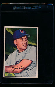 Scan of 1952 Bowman 57 Clyde Vollmer EX