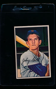 Scan of 1952 Bowman 67 Johnny Groth P