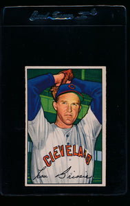 Scan of 1952 Bowman 79 Lou Brissie EX