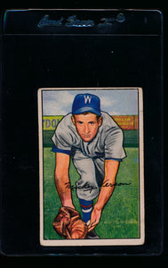 Scan of 1952 Bowman 87 Mickey Vernon G
