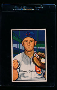 Scan of 1952 Bowman 88 Bruce Edwards VG-EX