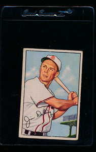 Scan of 1952 Bowman 157 Jim Delsing G
