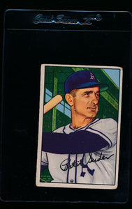 Scan of 1952 Bowman 179 Pete Suder G