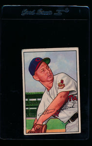 Scan of 1952 Bowman 203 Steve Gromek G