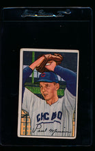 Load image into Gallery viewer, Scan of 1952 Bowman 211 Paul Minner RC G