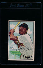 Load image into Gallery viewer, Scan of 1952 Bowman 249 Hank Thompson VG-EX