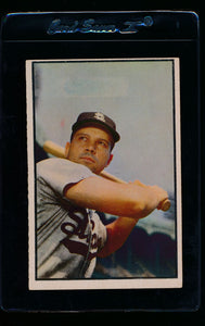 Scan of 1953 Bowman 2 Vic Wertz VG