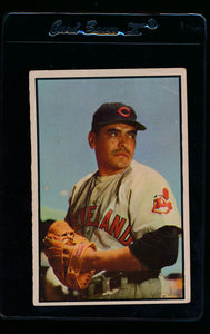 Scan of 1953 Bowman 43 Mike Garcia G