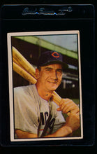 Load image into Gallery viewer, Scan of 1953 Bowman 48 Hank Sauer VG-EX (ST)