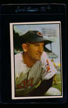 Load image into Gallery viewer, Scan of 1953 Bowman 143 Al Lopez G/VG
