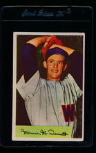 Load image into Gallery viewer, Scan of 1954 Bowman 56 Maurice McDermott G