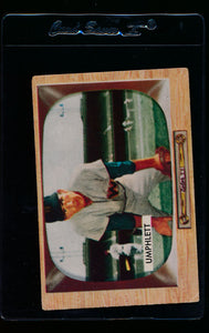 Scan of 1955 Bowman 45 Tom Umphlett G