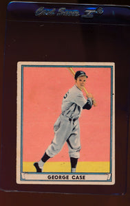 Scan of 1941 Play Ball 69 George Case VG-EX