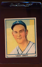 Load image into Gallery viewer, Scan of 1941 Play Ball 68 John Knott VG