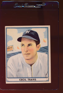 Scan of 1941 Play Ball 48 Cecil Travis VG-EX