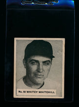 Load image into Gallery viewer, Scan of 1936 World Wide Gum 60 Whitey Whitehill G
