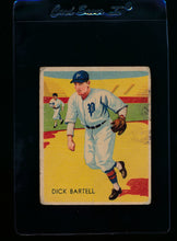 Load image into Gallery viewer, Scan of 1935 Diamond Stars 15 Dick Bartell F