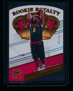 Scan of 2018-19 Panini Crown Royale 29 Omari Spellman NM-MT+