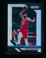 Load image into Gallery viewer, Scan of 2018-19 Panini Prizm 177 Anthony Davis NM-MT+