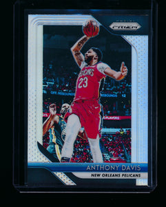 Scan of 2018-19 Panini Prizm 177 Anthony Davis NM-MT+